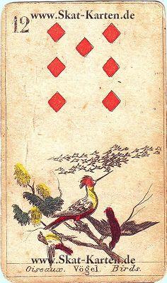 Skatkarten Ziehen